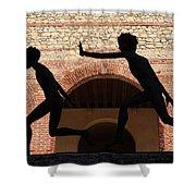 Verona Sculpture Shower Curtain
