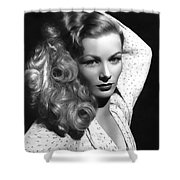 Veronica Lake Actress Shower Curtain