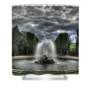Versailles Fountain Shower Curtain