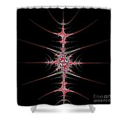 Vertebrae Shower Curtain