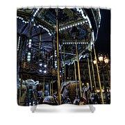 Vertical Carousel Shower Curtain
