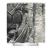 Vertical Venice IIi Mmxi Shower Curtain