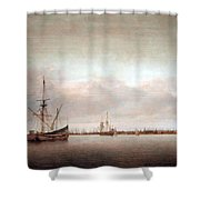 Verwer's View Of Hoorn Shower Curtain