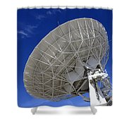 Very Large Array Of Radio Telescopes 4 Shower Curtain