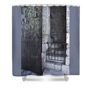 Very Old City Architecture No 2 Shower Curtain