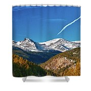 Very Thin Air Shower Curtain