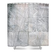 Vessel Scape Shower Curtain
