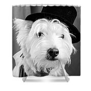 Veteran Vaudeville Stage Actor Shower Curtain