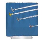 Veterans Day Flyover - Overhead Shower Curtain