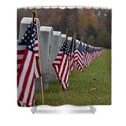 Veterans Day Shower Curtain