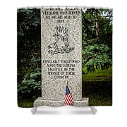 Veterans Memorial Shower Curtain