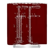 Veterinary Molar Extraction Patent 1911 Shower Curtain