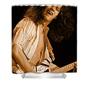 Vh #11 In Amber Shower Curtain