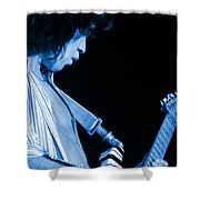 Vh #18 In Blue Shower Curtain