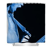 Vh #19 In Blue Shower Curtain