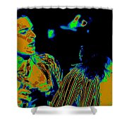 Vh #2 In Cosmicolors Shower Curtain