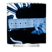 Vh #20 In Blue Shower Curtain