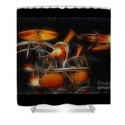 Vh-alex-balance-gb32-fractal Shower Curtain