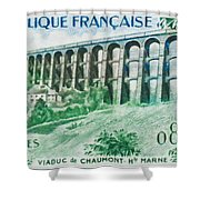 Viaduct Chaumont Haute-marne Shower Curtain