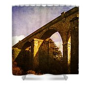 Viaducts Shower Curtain