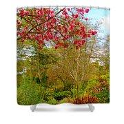 Vibrant Garden  Shower Curtain