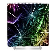 Vibrant Wishes Shower Curtain