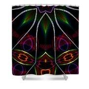 Vibrational Tendencies Shower Curtain