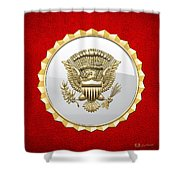 Vice Presidential Service Badge Shower Curtain