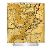 Vicksburg And Its Defenses Shower Curtain
