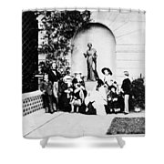 Victoria & Family, 1857 Shower Curtain