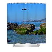Victoria Beach Shower Curtain