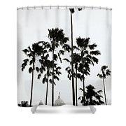 The Victoria Memorial Shower Curtain