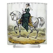 Victoria Of England, C1837 Shower Curtain