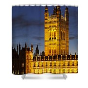 Victoria Tower - London Shower Curtain