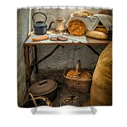 Victorian Bakers Shower Curtain