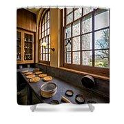 Victorian Baking Shower Curtain by Adrian Evans
