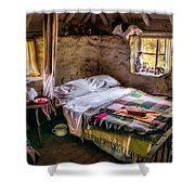 Victorian Bedroom Shower Curtain by Adrian Evans