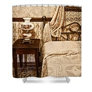 Victorian Bedroom Shower Curtain