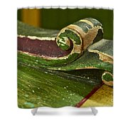 Victorian Curves Shower Curtain