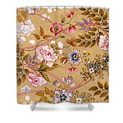 Victorian Floral Pattern Phone Case Shower Curtain