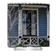 Victorian Home In Napa Valley Shower Curtain