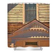 Victorian House Detail Shower Curtain