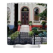 Victorian House Lafayette Sq St Louis Shower Curtain
