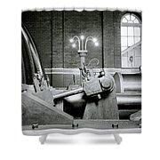 The Machine Shower Curtain