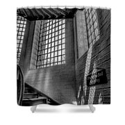 Victorian Jail Staircase V2 Shower Curtain