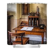 Victorian Medical Office Shower Curtain