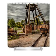 Victorian Mine Shower Curtain