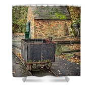 Victorian Mining Cart Shower Curtain