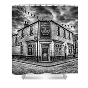 Victorian Pub Shower Curtain