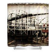 Victorian Roller Coaster Shower Curtain